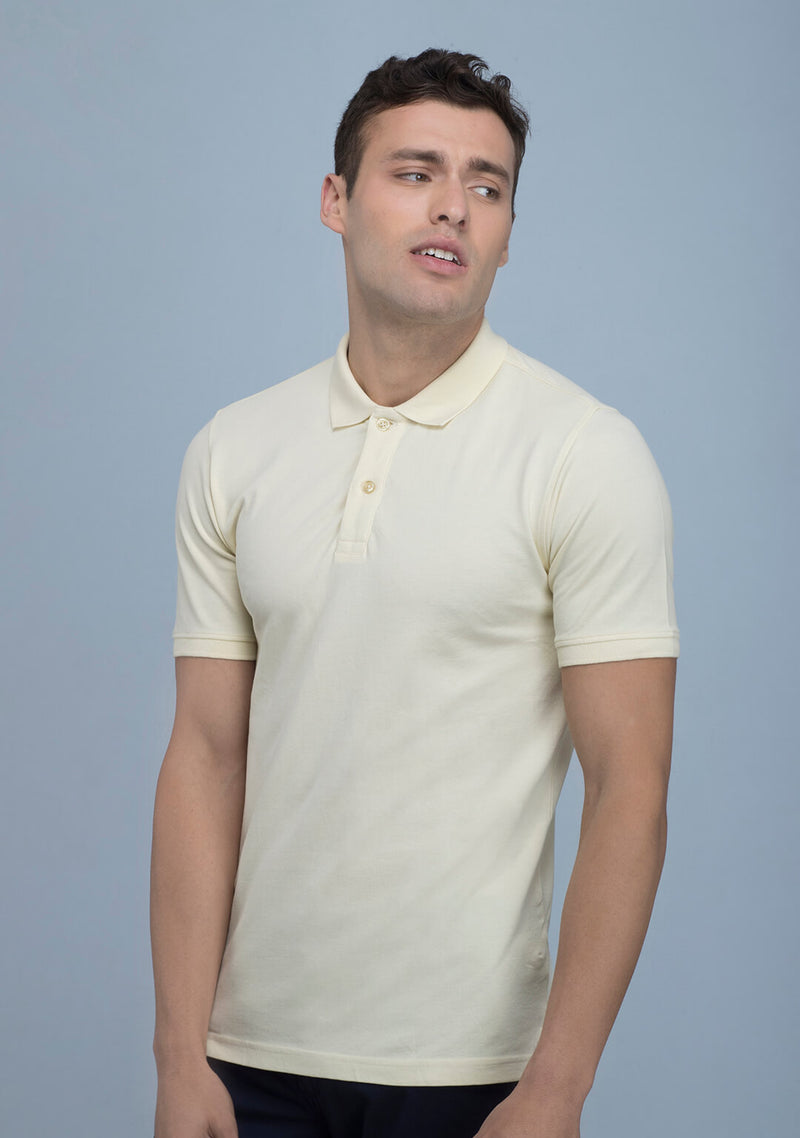 Tuscan Yellow Polo T-shirt India