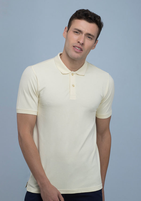 Tuscan Yellow Polo T-shirt Online