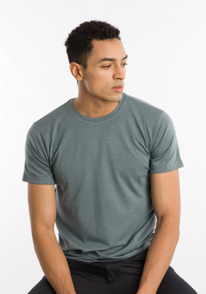 Men's Crew neck in Citadel Color