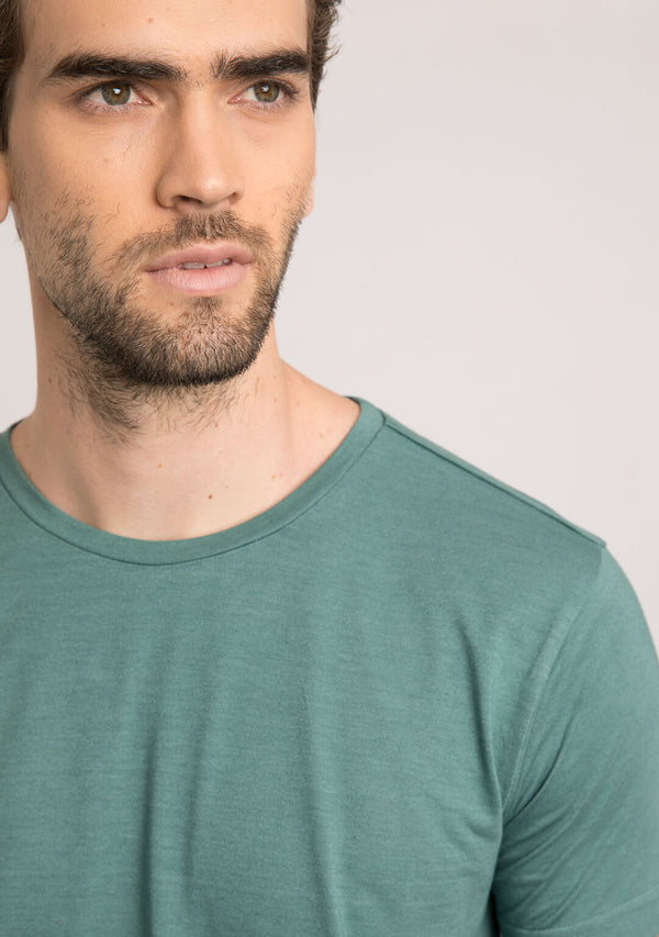 pine green mens t shirt
