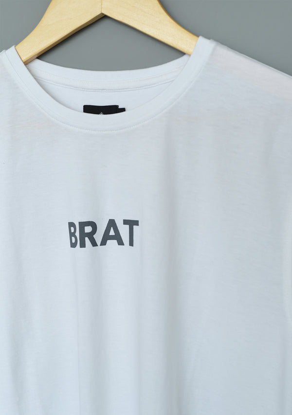 BRAT T-shirt in White