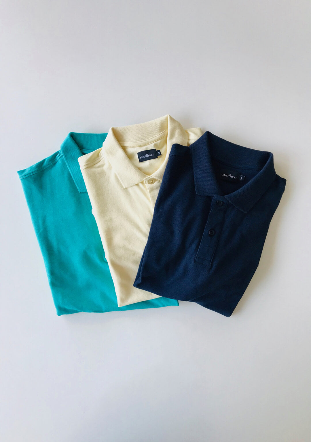 3 Pack Yellow/Navy/Sea Green