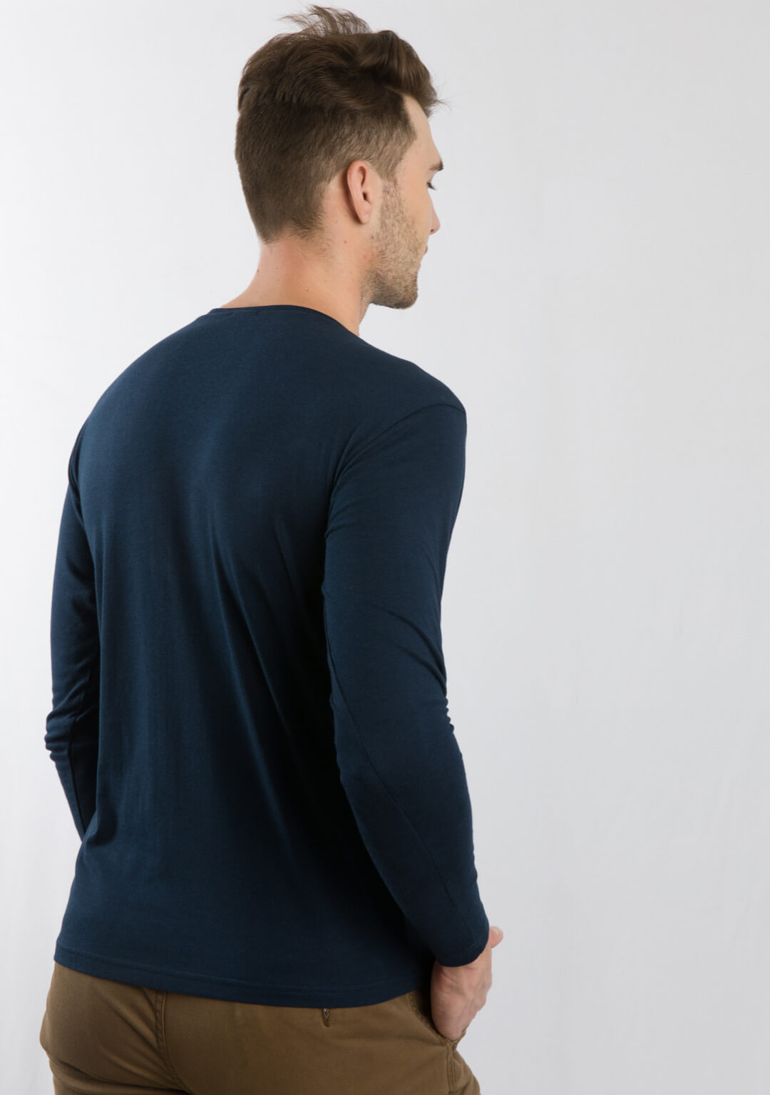 Full Sleeve T-shirt in Ensign Blue
