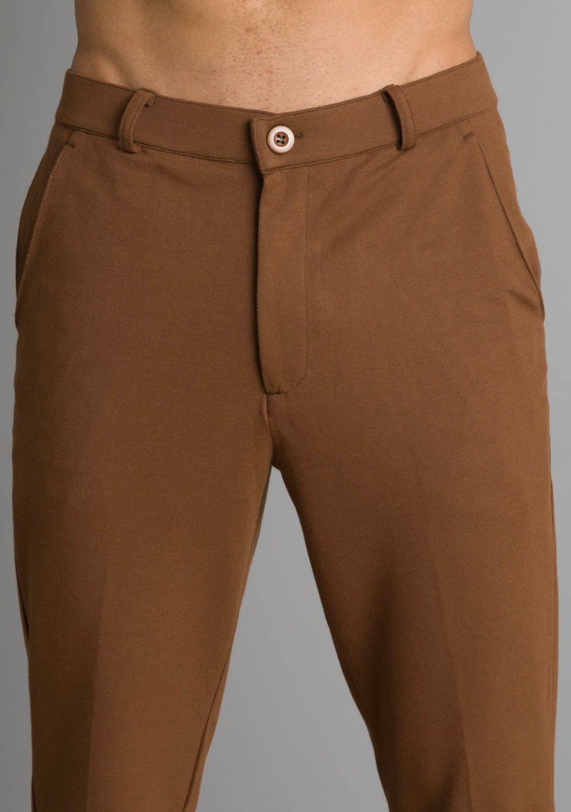 Everywear Pants in Toffee Brown