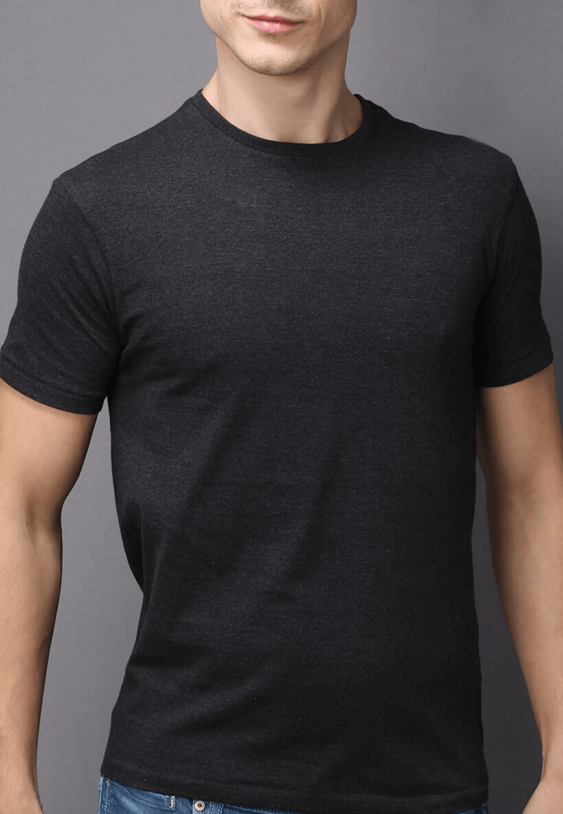 Thunder Grey T Shirt for Men