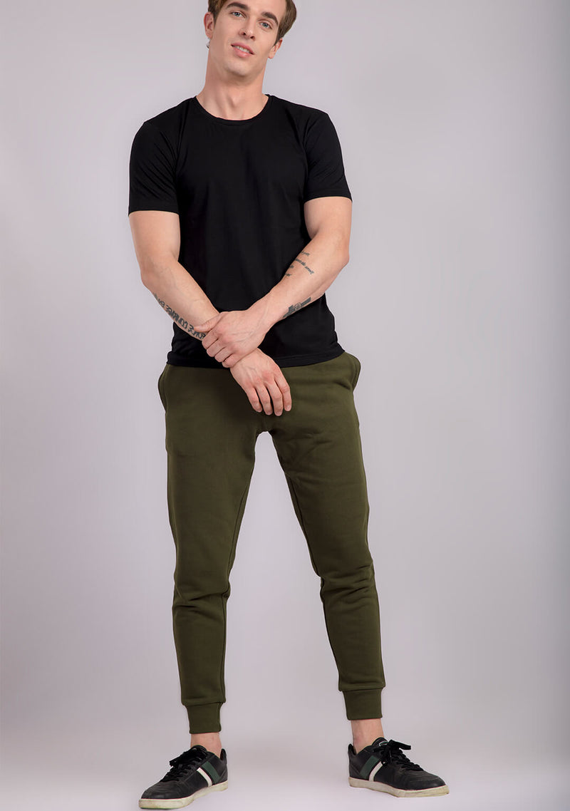 Jogger in Military Green