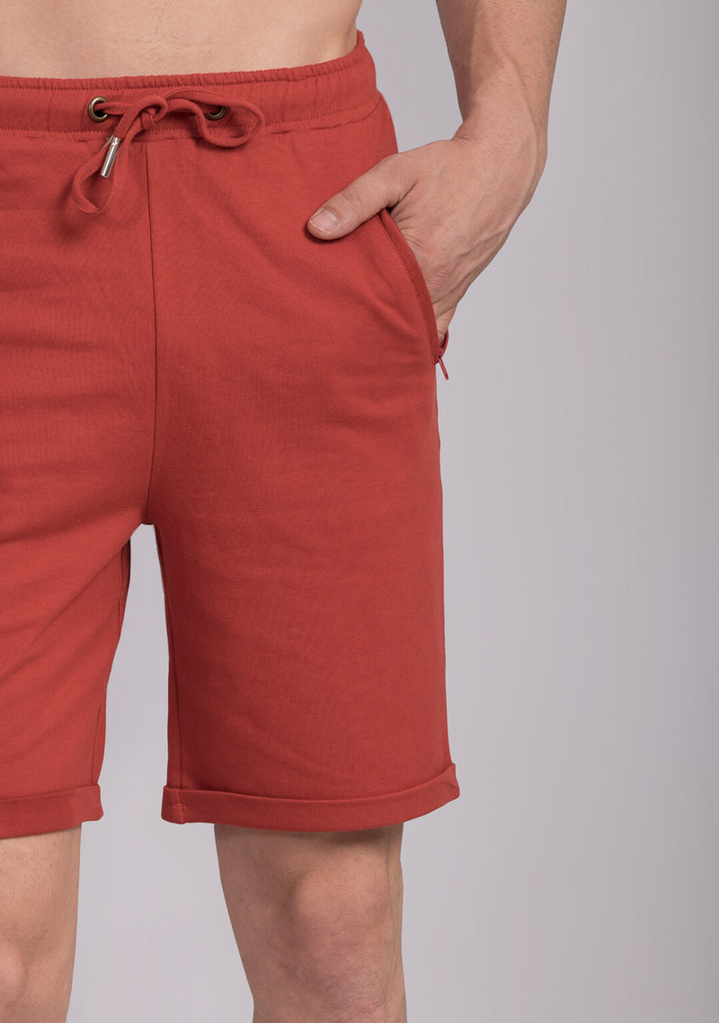 Everyday Shorts in Burnt Sienna