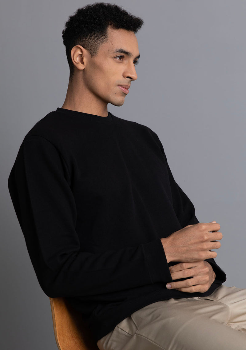 Classic Sweatshirt in Black