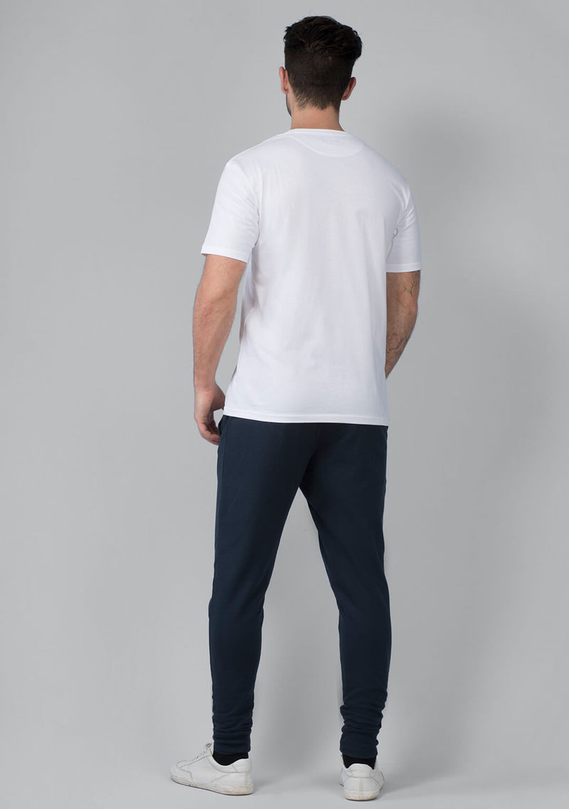 captain blue colored mens jogger