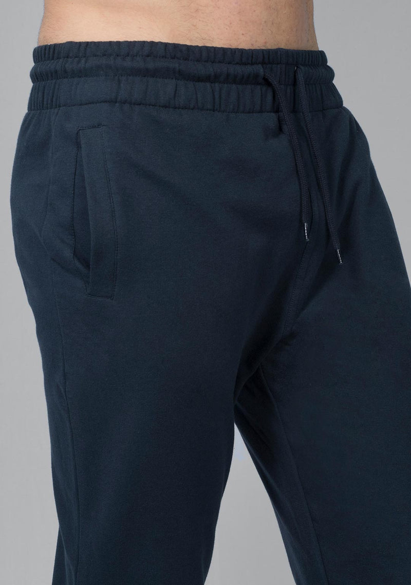 blue color jogger men