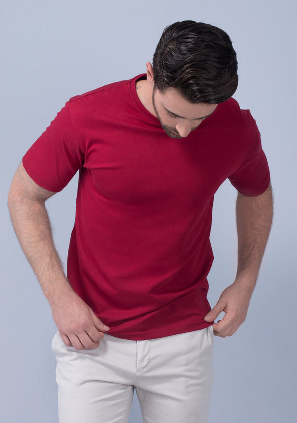 pepper red t shirt men