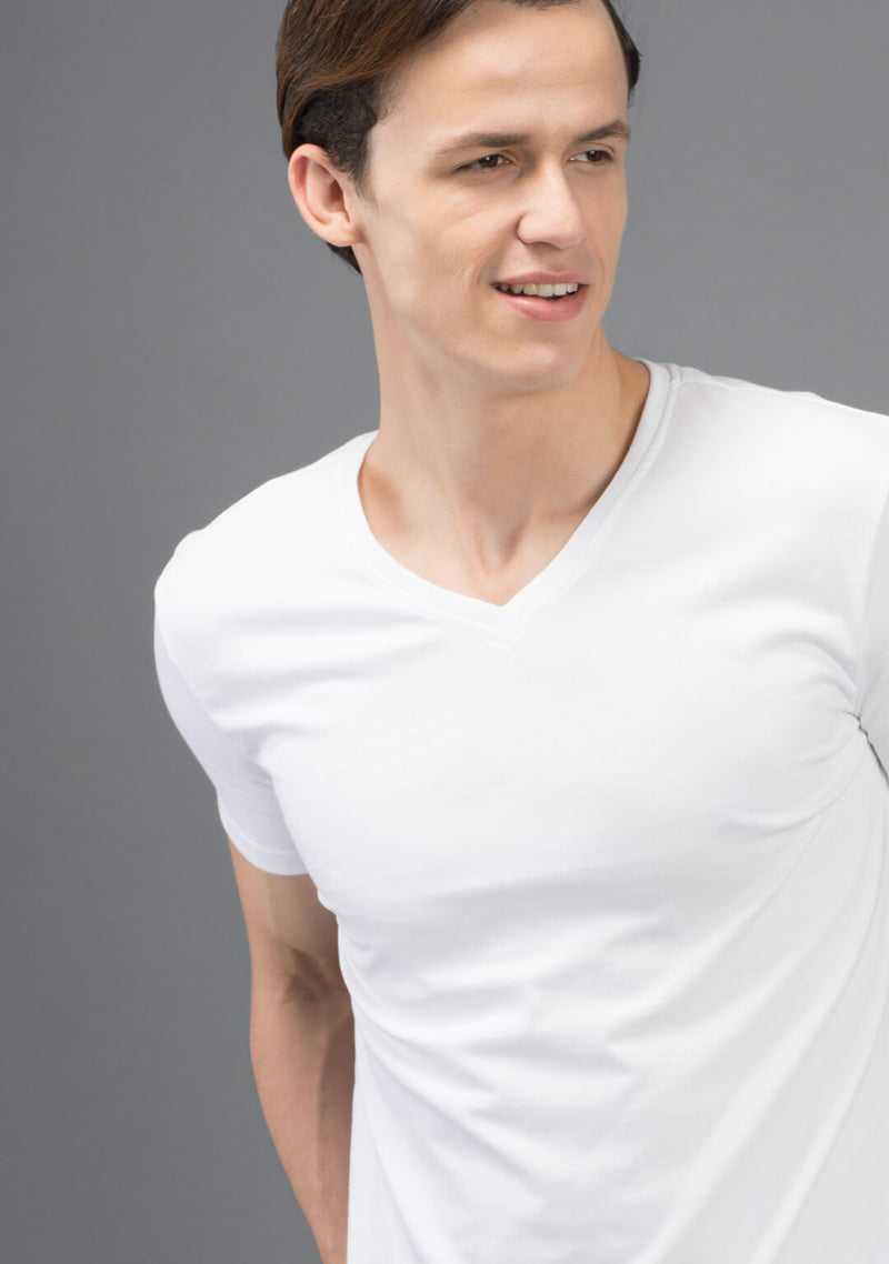 white color t shirt