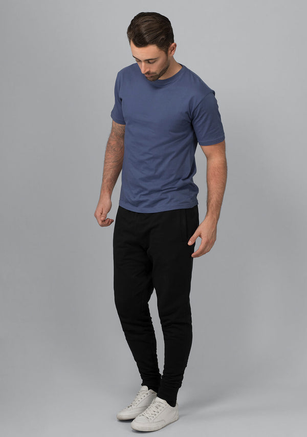 Jet Black Color Joggers