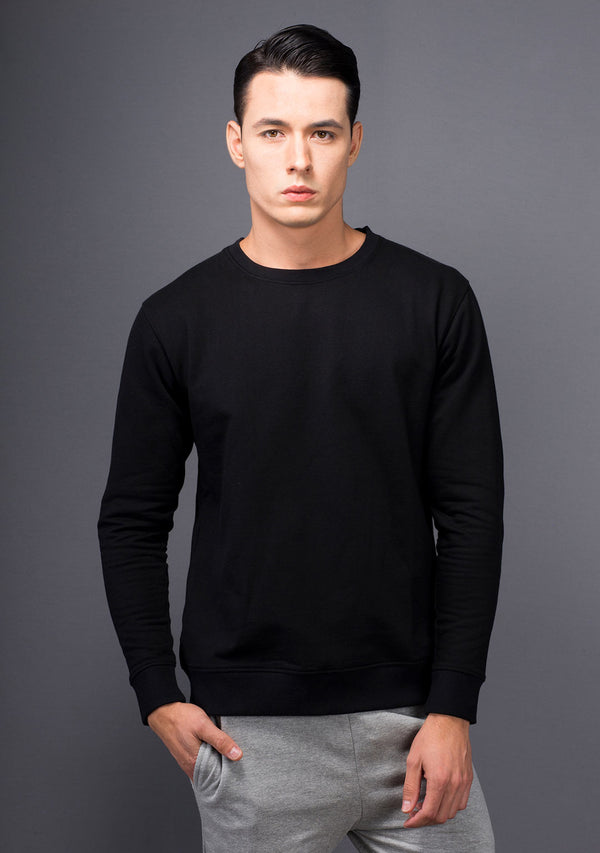 Jet Black Sweatshirt