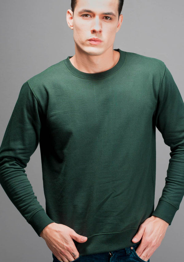 Military Green Sweatshirt
