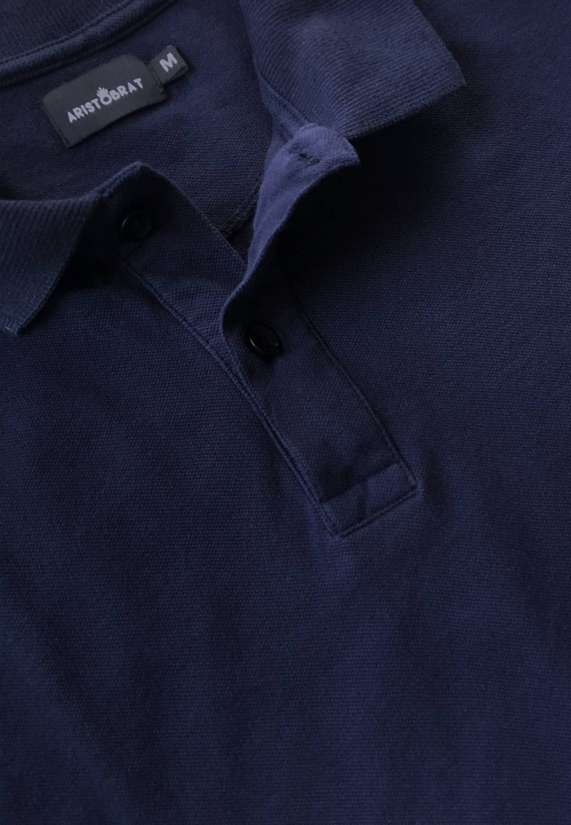 Polo T-shirt in Navy Blue Color for Men