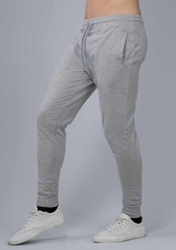 Light Grey Mélange Joggers