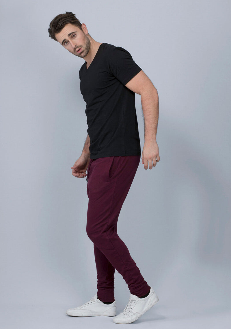 Shop Vampire Wine Color Joggers Online