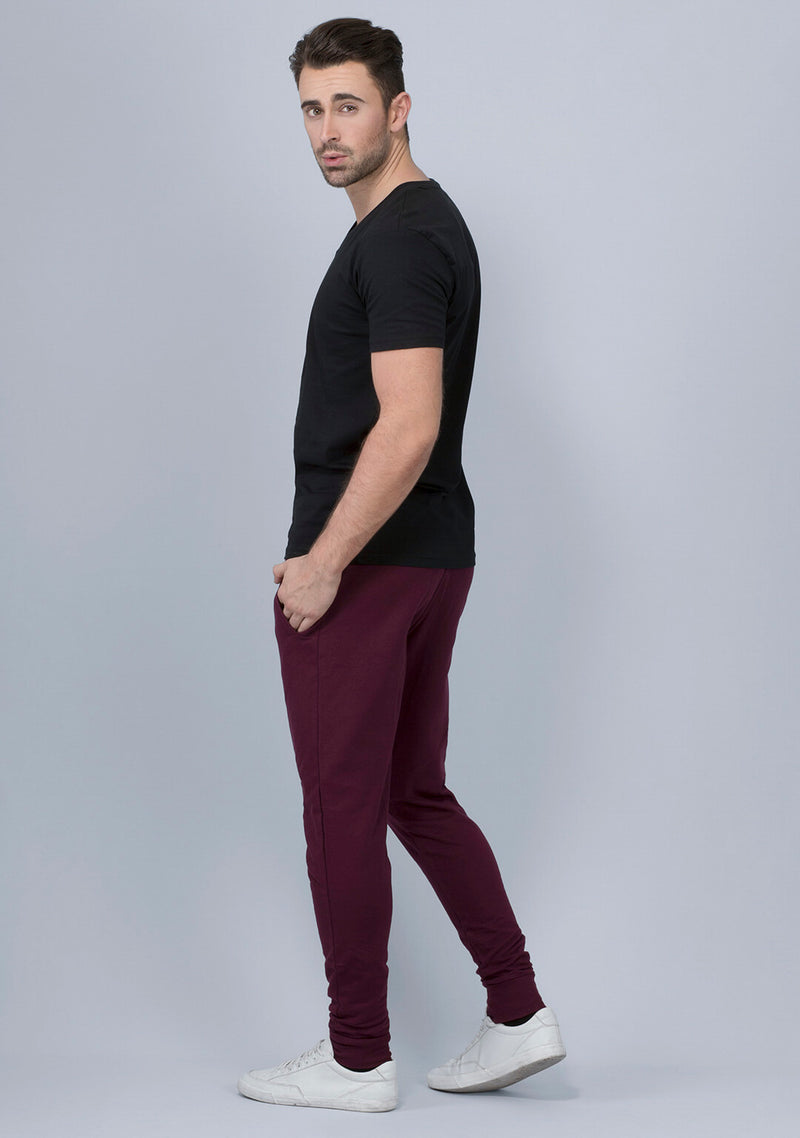 Buy Vampire Wine Color Joggers