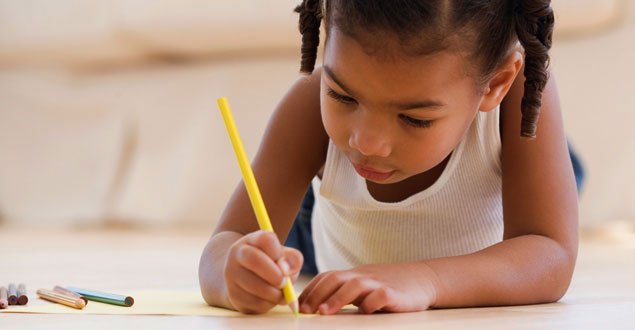 Writing skills in preschool