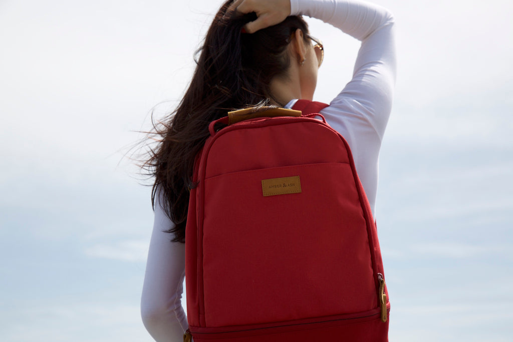 Amber & Ash Laptop Backpack is the Perfect Everyday Carrying Solution