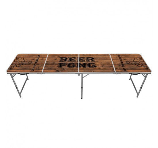 Brown Classic Beer Pong Table