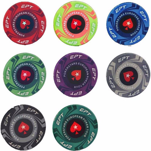 European Poker Tour Chip Set