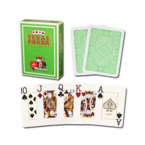 Modiano Texas Poker Light Green Cards