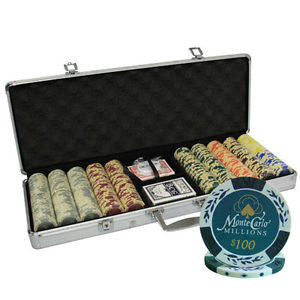 Monte Carlo Millions Poker Chip Set