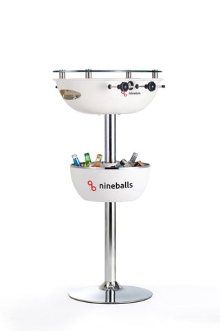 Nineballs 2 in 1 Party Foosball Table