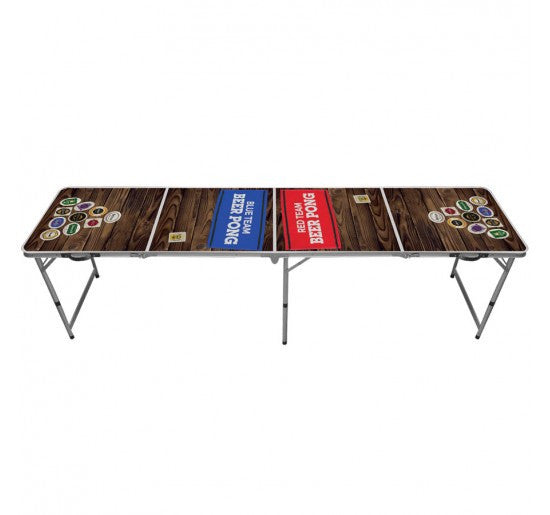 Red vs Blue Beer Pong Table