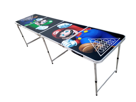 Super Mario Beer Pong Table