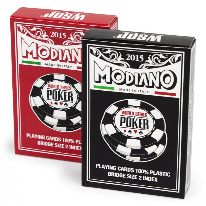 Modiano World Series of Poker 2015 Cards