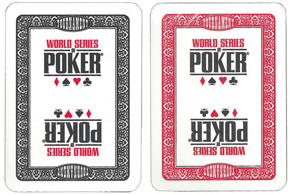 World Series of Poker Cards