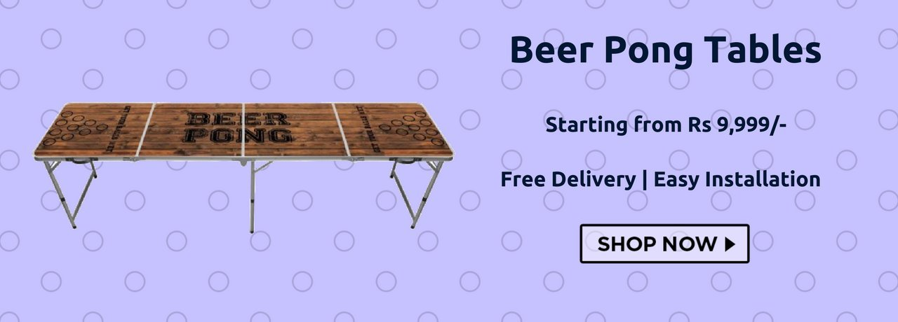 Buy Beer Pong Tables in India