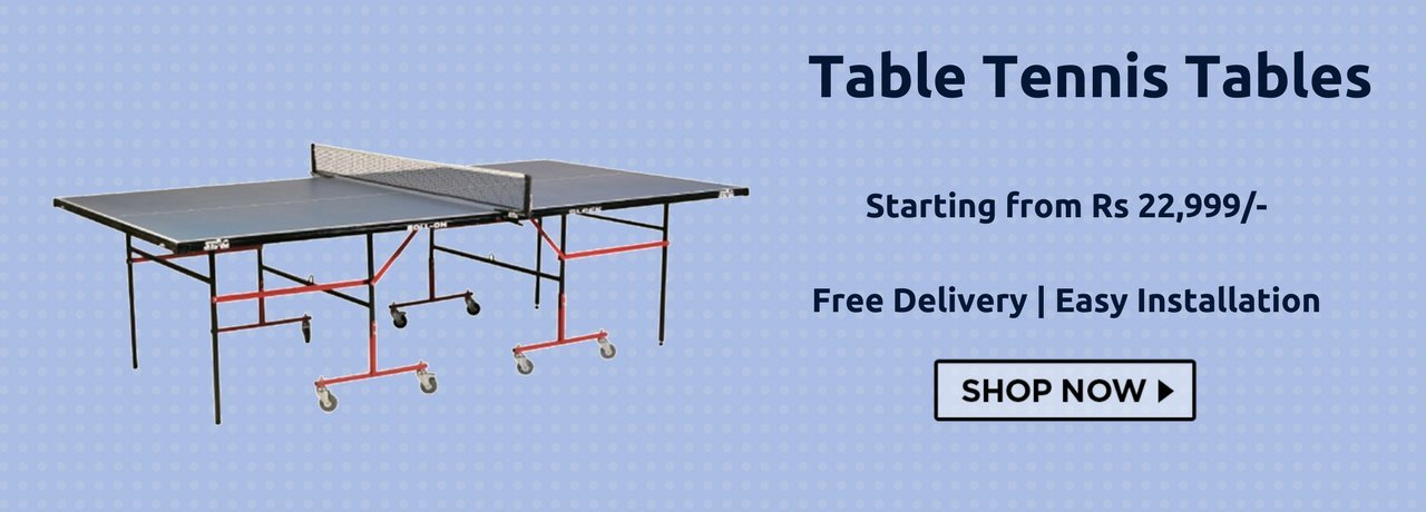 Buy Table Tennis Tables in India