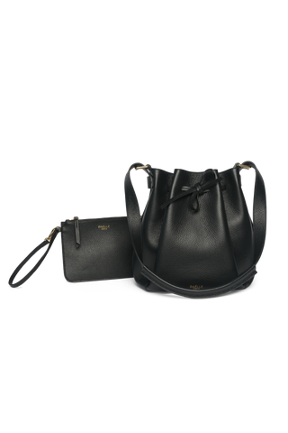 Bucket Bag Black Pouch