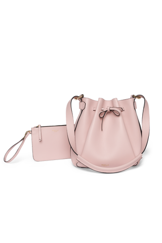 Bucket Bag Powder Rose Pouch