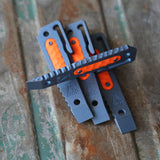 Prybar12 limited version with orange G10 inlay