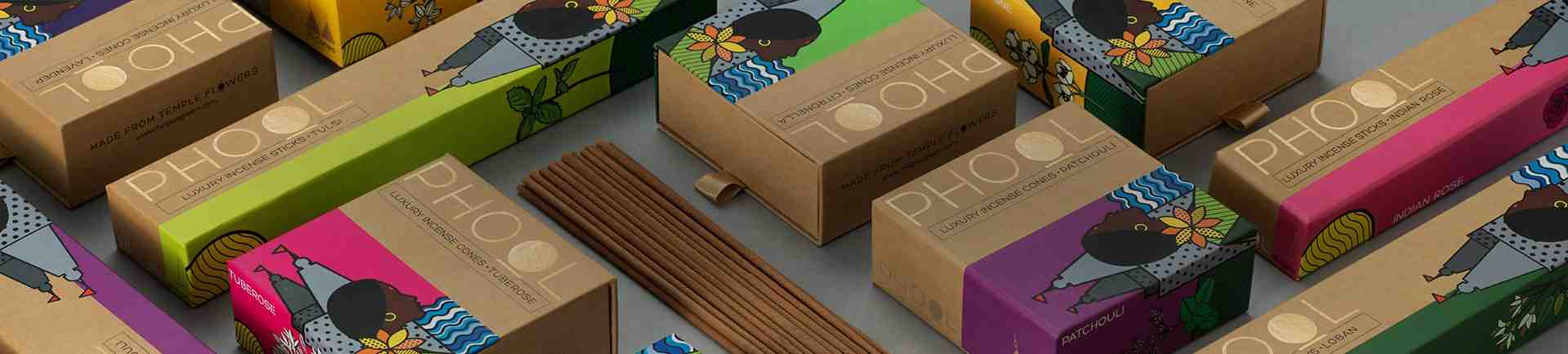 Phool Luxury Incense Sticks and Cones