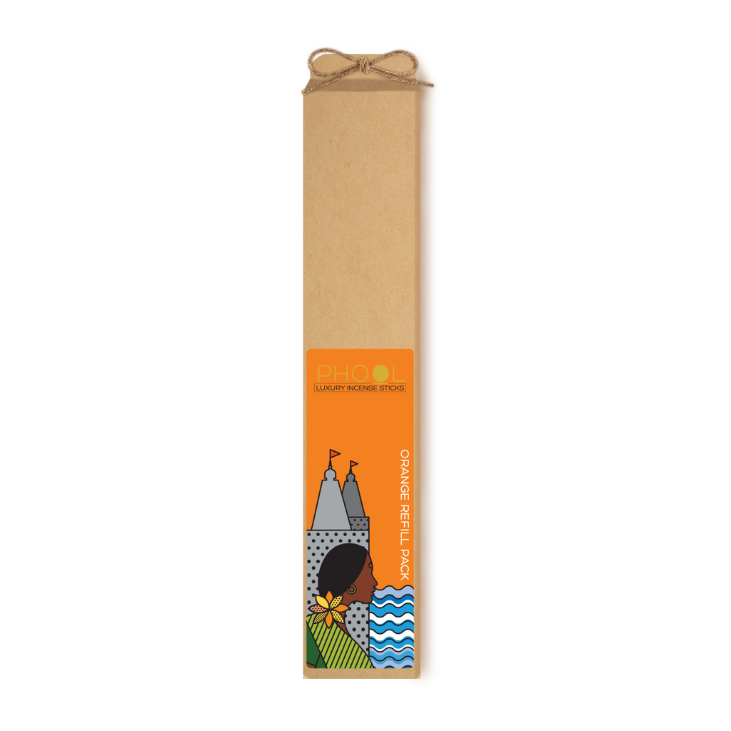 Phool Orange Refill Incense Sticks