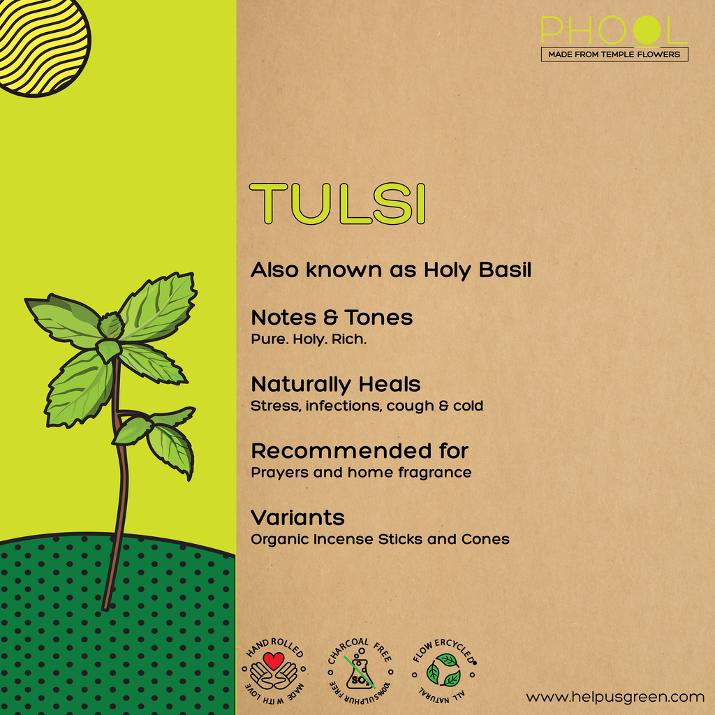 Phool Tulsi Incense Sticks