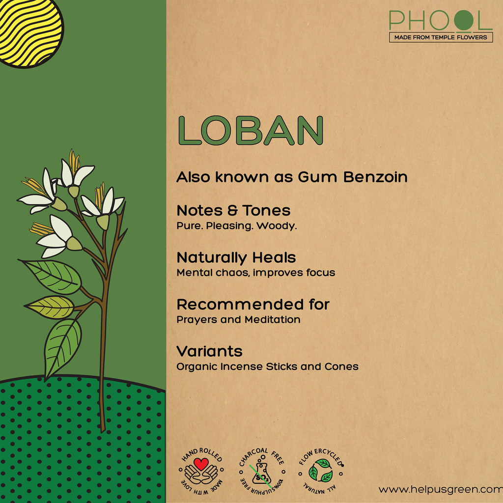 Phool Loban Incense Cones