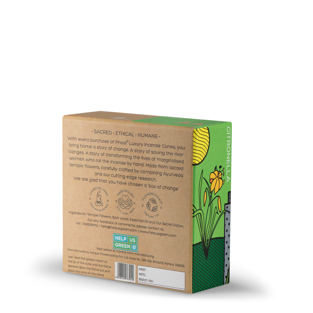 Phool Citronella Incense Cones