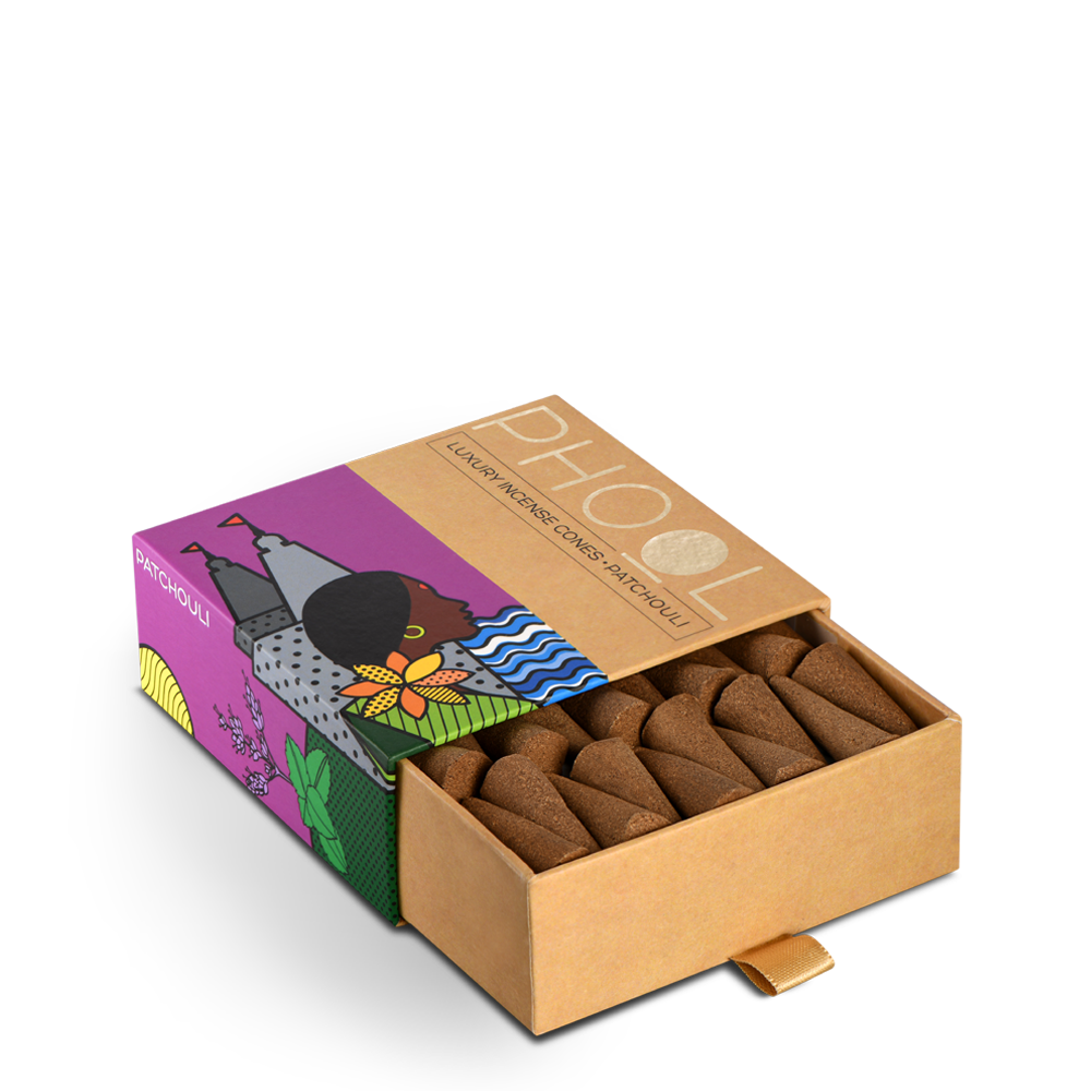 Phool Patchouli Incense Cones