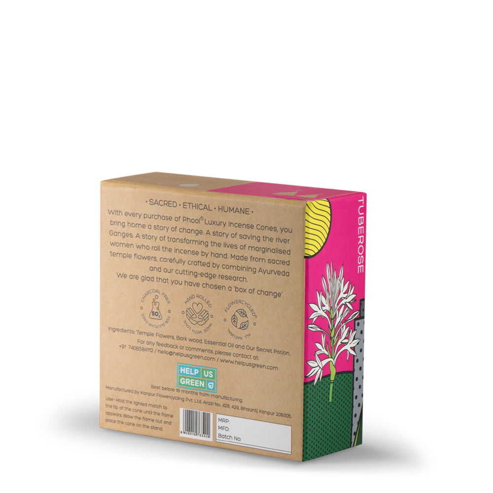 Phool Tuberose Incense Cones