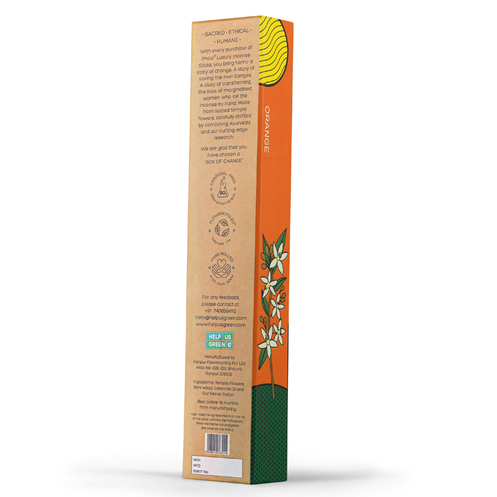 Phool Orange Incense Sticks