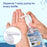 Superfy Press Hand Sanitizer, Moisturizing Gel Hand Wash with Pump,No-wash,Quick-drying  8 fl.oz (Pack of 8)