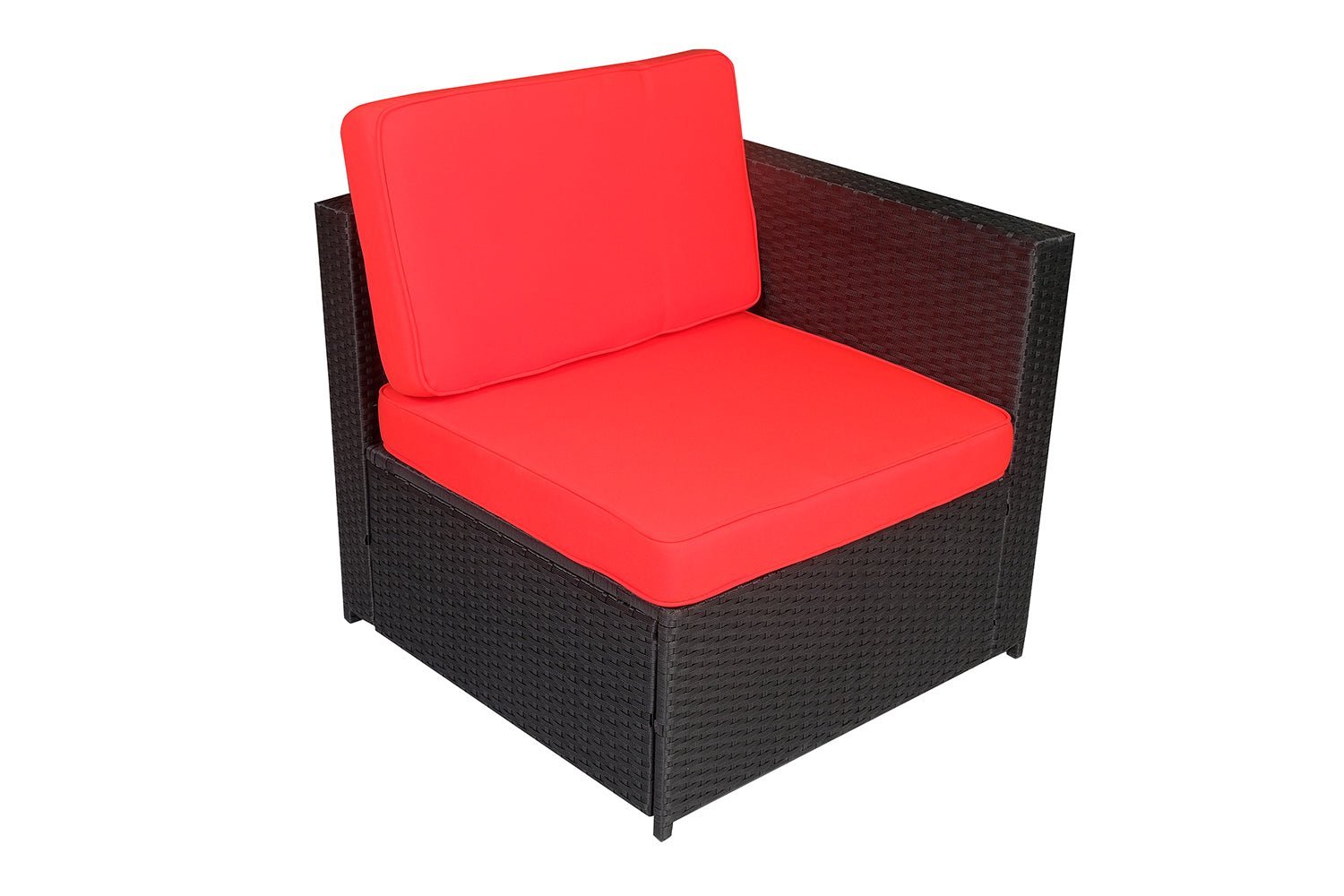 Outdoor Rattan Wicker Sofa Couch Patio Furniture Chair Garden Table With Cushion DIY