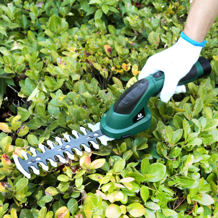 MCombo 3.6V Lithium-Ion Cordless 2-in-1 Hedge Trimmer/Grass Shear Combo